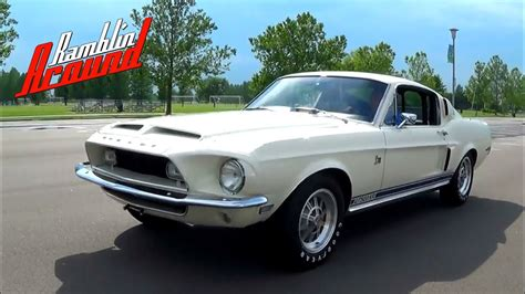 Test Driving 1968 Shelby GT500KR 428 Cobra jet V8 Four