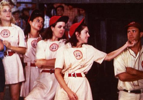 A League Of Their Own - Madonna & Tom Hanks in movie by