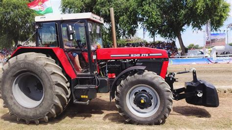 Zetor 16245 tuning tractor pulling (300hp) 2019 - YouTube