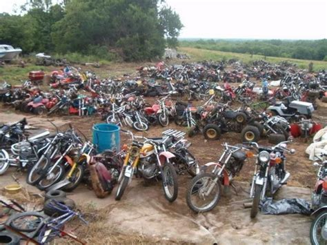 Motorcycle and ATV salvage yard (avec images) | Voiture