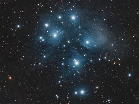 The Pleiades (M45) - Astronomy Magazine - Interactive Star