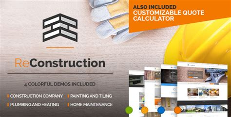 ReConstruction - Contractor & Building Theme by BoldThemes