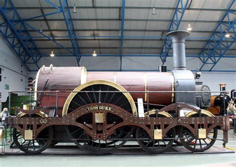 Iron Duke - GWR broad gauge replica 4-2-2 (With images