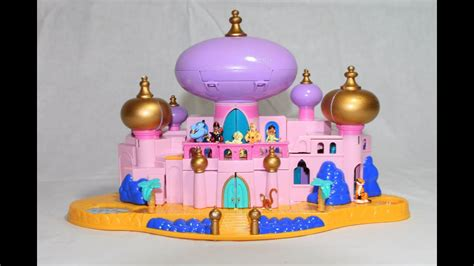 Disney Jasmine's Royal Palace Aladdin's Castle Polly