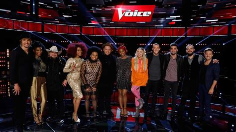 'The Voice' Reveals Top 12 in First-Ever Live Voting Show
