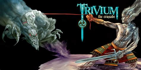Trivium Album art - The Crusade | Album art, Art, Crusades