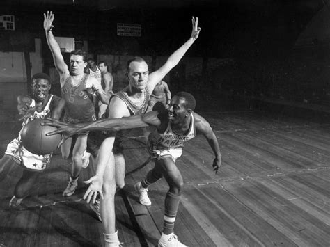 The black-versus-white basketball game that integrated the