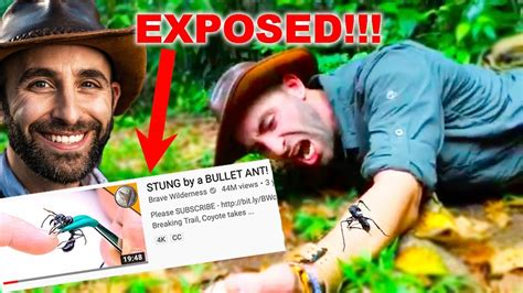 COYOTE PETERSON EXPOSED PART 1 (THE TRUTH) *Bullet Ant