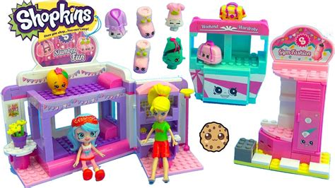 Shoppies Jessicake & Polly Pocket Go To Shopkins Slumber