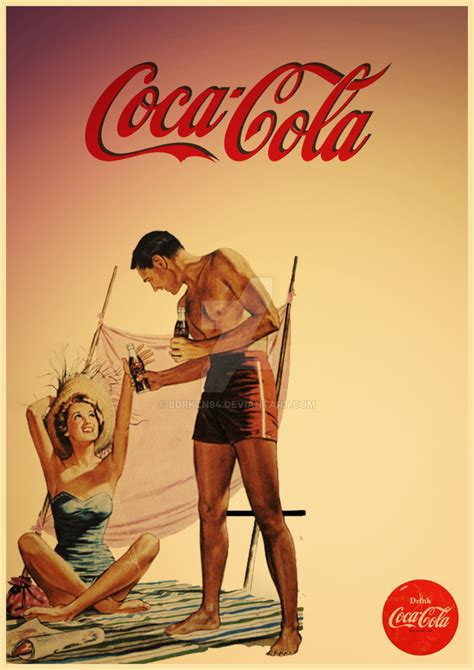 Vintage Coca Cola Poster by BDRKZN84 on DeviantArt